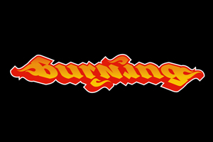 Burning Ambigram
