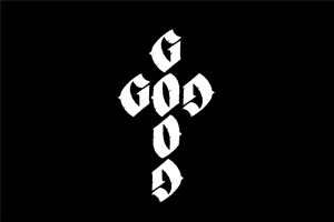Good God Ambigram