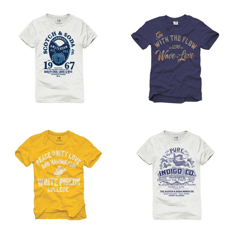 Scotch & Soda: Tee Collection