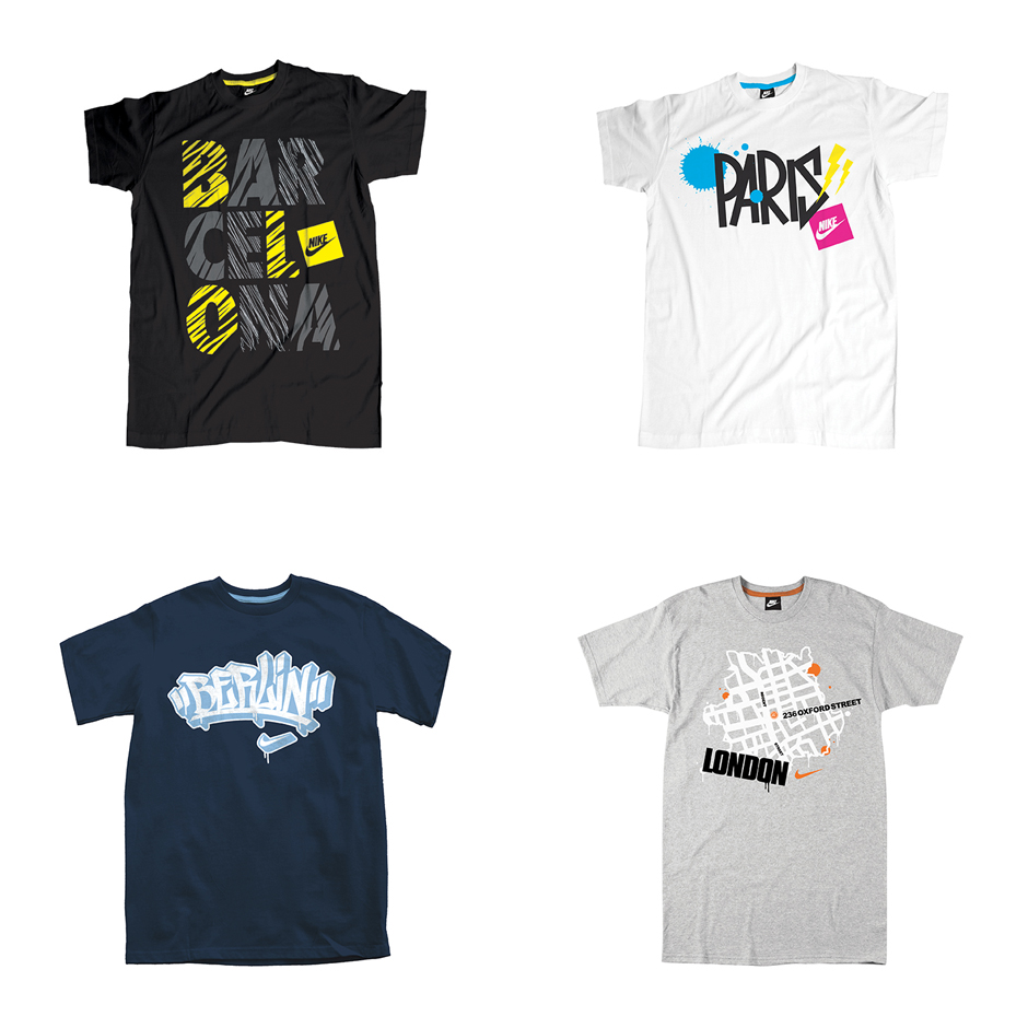 Nike: Nike Retail City Tees