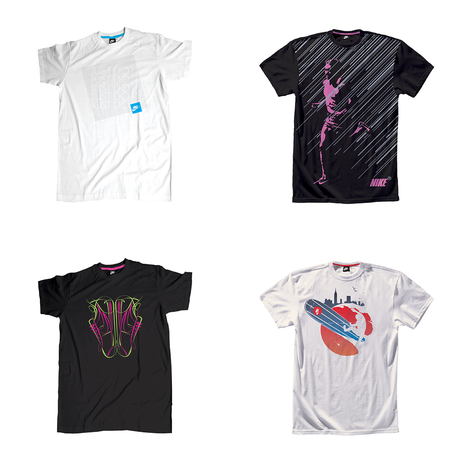 Nike: Graphic Tees Random 4